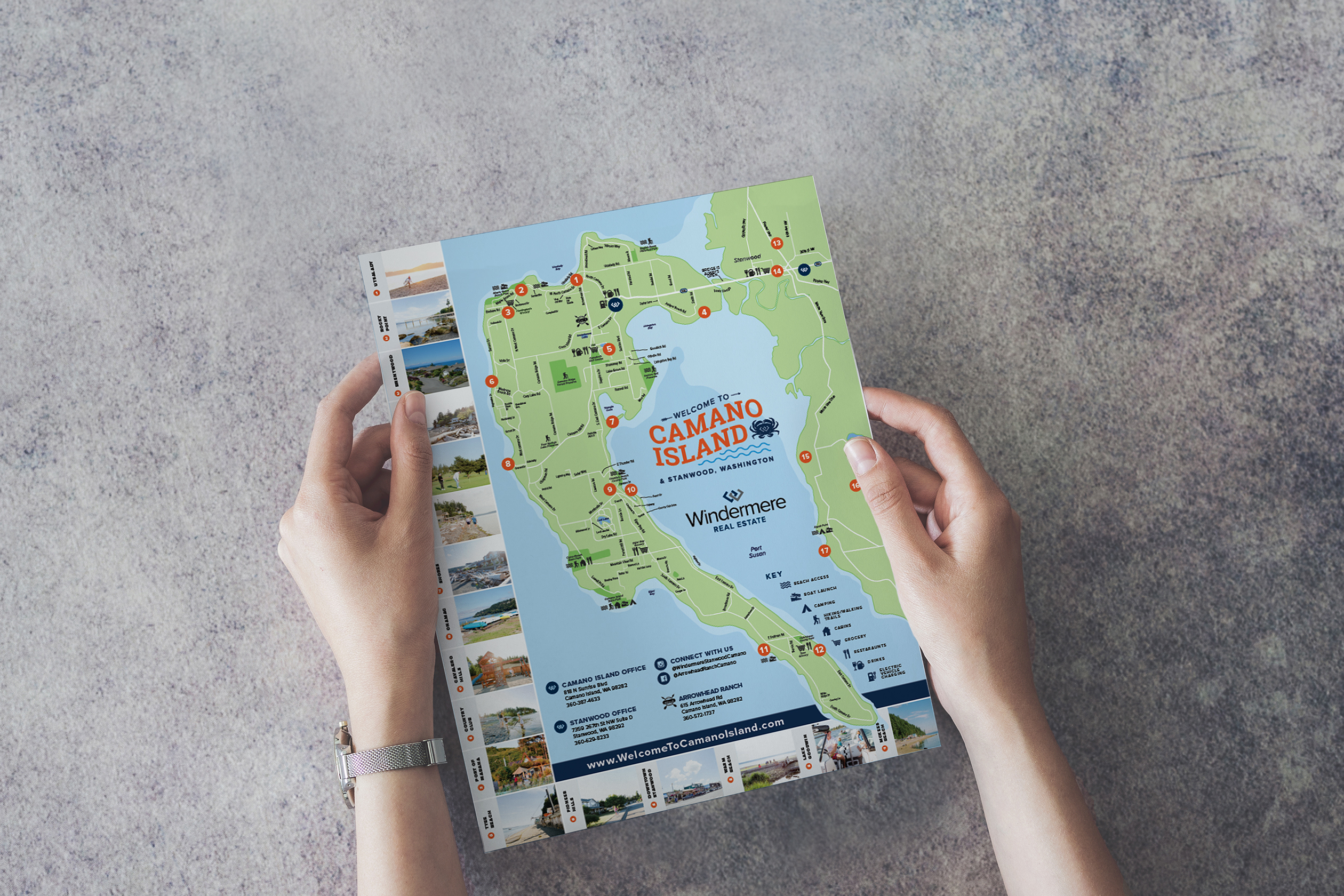 Camano Island Map