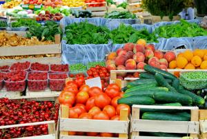 local farmers market produce