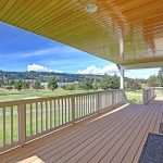 Gorgeous view from covered deck.